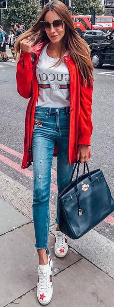 A red jacket that`ll make you want to do anything but blend in