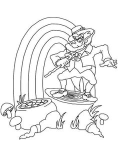 st patrick s day coloring pages ebook dancing leprechauns free