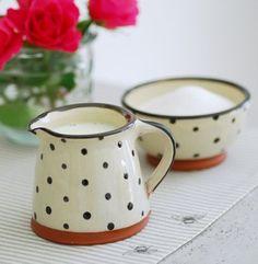 bohemian cream and sugar set | Found on peonyandsage.com