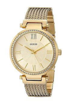 GUESS U0638L2 (Gold) Dress Watches - GUESS, U0638L2, U0638L2-000, Jewelry Watches Dress, Dress, Watches, Jewelry, Gift, - Fashion Ideas To Inspire