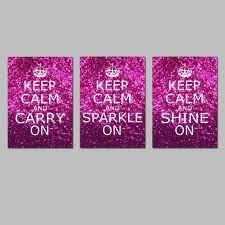 Keep Calm & SPARKLE