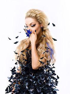 CLEO has got my Blue Butterfly ring, Studio Bordado
