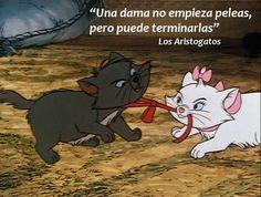 """Clave esta frase de """"Los Aristogatos"""", película de 1970 de Walt Disney Pictures que puede parafrasearse así: No importa quien empiece la pelea, cualquiera puede terminarla. Hacerse cargo de finaliz..."""