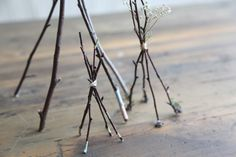 Vita Domi 5 Set of 2 Twig and Moss Bird Nest with Eggs Farmhouse Decor for Spring Easter Holiday