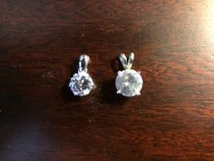 Can you tell which one is a CZ and which one is a Desert Diamond?