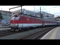 Týden s EC 283 Metropolitan Slovenská strela Bratislava, Trains, Youtube, Europe, Levitate, Youtube Movies