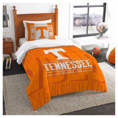 NCAA Northwest Modern Take Twin Comforter Set Tennessee Volunteers - 64 x 86