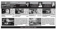 The RECC's Castles & Cottages ad for the week of 11.15.12