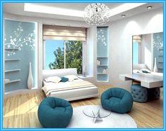 cool bedroom themes - zainabie | home decor | pinterest | blue