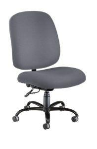 Grey Fabric Desk Chair
