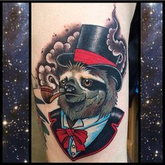 traditional sloth tattoo - Google Search