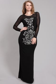 LONG FITTED MAXI WITH DESIGN TO ORDER CALL 888.712.6362 http://www.suitplusmore.com