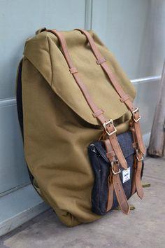 4ec9ce927f53 Herschel Little America Army Wool Backpack