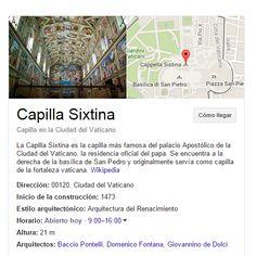 Bidaiako zati bat Capilla Sixtina bixitatzen igaroko genuke.