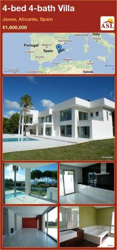 4-bed 4-bath Villa in Javea, Alicante, Spain ►€1,600,000 #PropertyForSaleInSpain