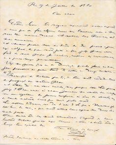 Carta de D. Pedro II a D. Fernando, Rei Consorte de Portugal.