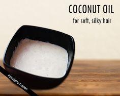 5 Best DIY Coconut oil hair treatments