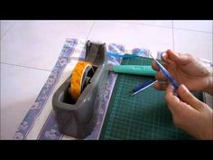 Make your own quilling tool from a pen shell and a toothpick