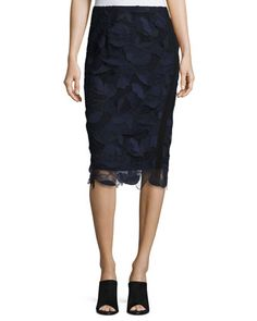 Lace+Pencil+Skirt+by+GREY+by+Jason+Wu+at+Neiman+Marcus.