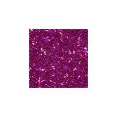 Glass Glitter Shards FASHION FUCHSIA ($2.29) ❤ liked on Polyvore