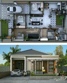 Rumah tipe 110/220 Ukuran tanah #shedplans