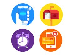 Dribbble - Random Icons by Nick Slater