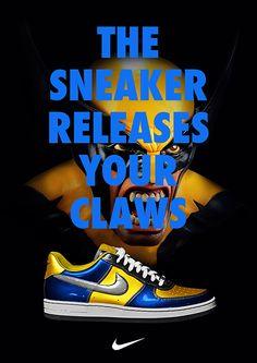Nike X Marvel Print Ad 5 - Lbert