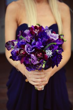 Bouquet. I just love these colors!