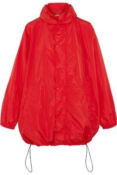 Balenciaga - Hooded Shell Windbreaker Jacket - Red - FR36
