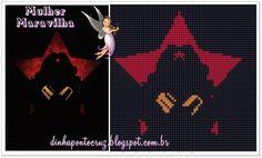 Salve o gráfico para impressão e a tabela de cores aqui: http://dinhapontocruz.blogspot.com.br/2014/08/super-herois-ponto-cruz-parte-3.html