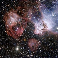 Grande Nube di Magellano, i 'fuochi d'artificio'