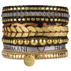 """Das Kult-Accessoire für die anspruchsvolle Fashionista! Das hippe stylishe Statementarmband """"Gold"""" aus der Kollektion """"One For All"""" wird handgefertigt vom angesagtem Label Tashimani. Versandkostenfrei bei melovely.de"""