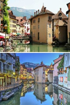 Small Towns in France You Have to Visit - Annecy --When most people think France, they immediately think Paris, and often times it is unfortunately the only city they visit. Here are 9 of the most beautiful small towns in France, that are NOT Paris. Oh The Places You'll Go, Places To Travel, Places To Visit, European Vacation, Vacation Spots, Phuket, Moustiers Sainte Marie, Paris France Travel, Annecy France