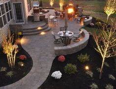 33 Comfy Backyard Patio Design Ideas 2019 33 Comfy Backyard Patio Design Ideas The post 33 Comfy Backyard Patio Design Ideas 2019 appeared first on Patio Diy. Landscaping Supplies, Front Yard Landscaping, Backyard Landscaping, Landscaping Ideas, Pavers Ideas, Design Jardin, Garden Design, Backyard Patio Designs, Deck Patio