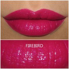 Urban Decay Vice Lipstick in Firebird - Review and Swatch