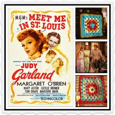 Getting Crafty With Hollywood's Classic Movies! Join the Crafting With The Classics-Along: Meet Me in St. Louis! The Craft-Along will run from October to the end of December. Perfect for a film whose story begins in Autumn, and where Halloween and Christmas are featured prominently!  http://www.ravelry.com/groups/crafting-with-the-classics #crochet #knit #ravelry