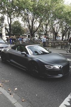 """""""Blacked out Audi R8 ⚫️"""