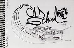 desafio dos 30 #desenhos #draw #sketchbook por #fabermota #oldschool #car