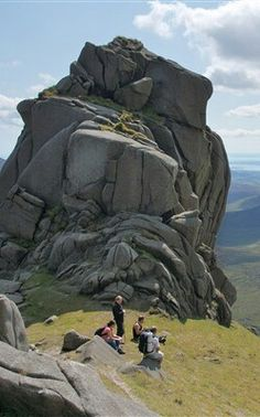 The tors of Slieve Bearnagh, Mourne Mountains, Northern Ireland (David Doyle Photography)