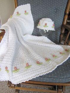 Ravelry: Signs of Spring: Tulip Baby Set pattern by Jennifer Cirka Jaybird Designs $3.99