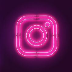 Pink Neon Wallpaper, Wallpaper Iphone Cute, Neon Light Art, Pink Neon Sign, Iphone Logo, Neon Backgrounds, Neon Logo, Neon Design, Applis Photo