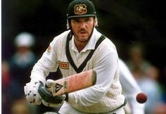 299-Allan Robert Border played 156 Tests, a record until passed by Steve Waugh. He retains the world record for number of consecutive Test appearances (153) and Tests as captain. He was a left hand batsman and part-time left arm orthodox spinner. Border made 11,174 Test runs at 50.56 including 27 centuries, a world record until passed by Brian Lara, Border left his successor Mark Taylor with a side that went on to be the best in the world.