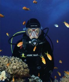 Scuba Diving  update: Tried it in June 2012, but got pregnant after I completed my confine water course.