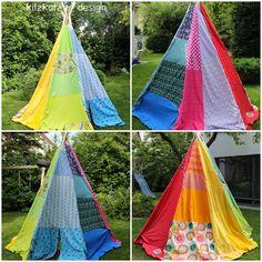kitzkatz design: Rainbow Tipi
