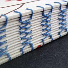 French Link Stitch binding #handmade_books