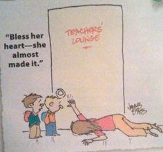 Lol. Teacher humor