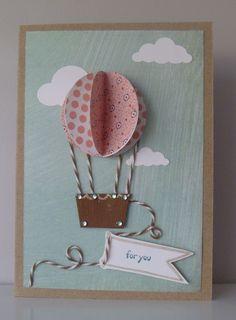My Hot Air Balloon Card