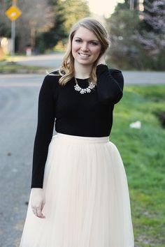 With Love, Amanda | Tulle Skirt