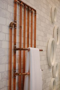 copper pipe radiator - Google Search