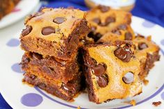 Soft, chewy, and chocolatey! These almond butter and honey blondies contain no flour, no grains, no refined sugar—just delicious, wholesome ingredients, all in one simple recipe!